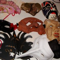 Caprice's hand made Mardi Gras masks and Cultural Masks by Artisans around the world.