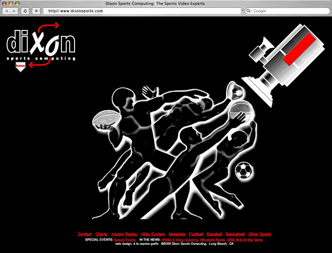Dixon Web FlashPage