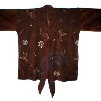 Suede Cloth Sioux Print