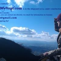 "PonyOnMyBoat.com  ""under construction"" page"